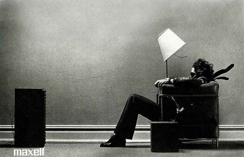 Maxell Tape Ad Poster