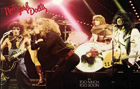 New York Dolls Band Poster