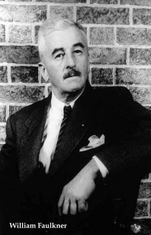 William Faulkner Portrait Poster