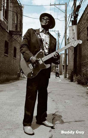 Buddy Guy Portrait Poster