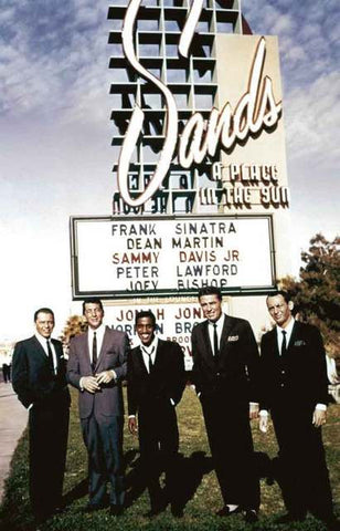 Rat Pack Sands Hotel Poster