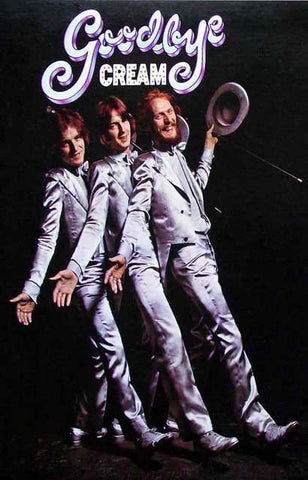 cream goodbye album cover poster 11x17 bananaroad
