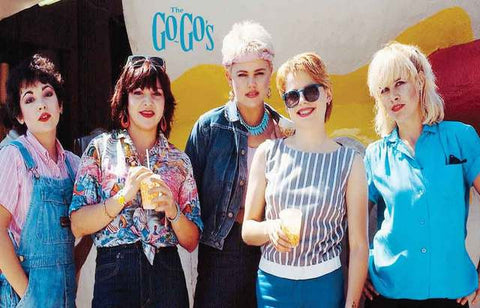The Go-Go's Group Portrait Poster 11x17