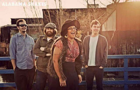 Alabama Shakes Band Poster