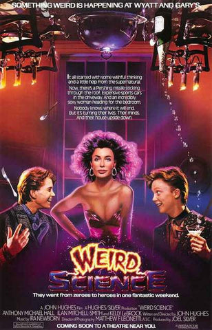 Weird Science Movie Poster 11x17