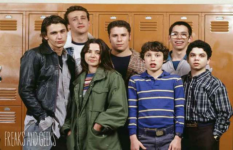 Freaks and Geeks TV Show Poster
