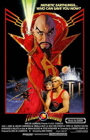 Flash Gordon Movie Poster 11x17
