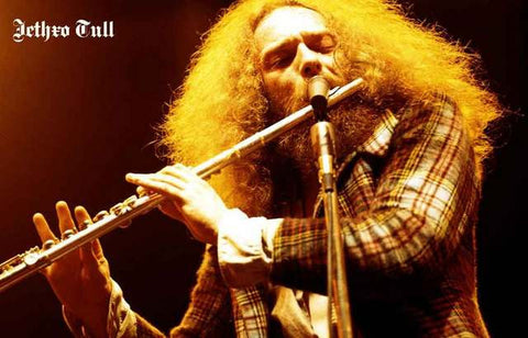 Jethro Tull Band Poster