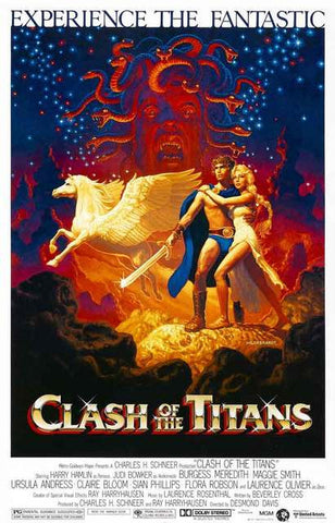 Clash of the Titans (1981) Movie Poster 11x17
