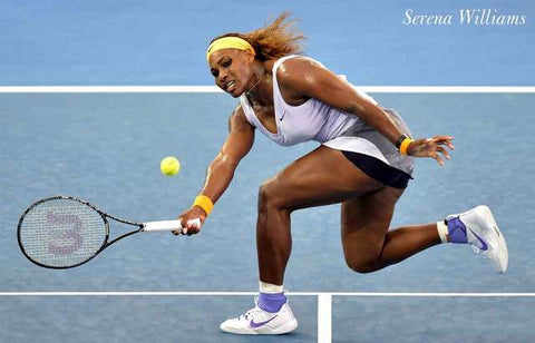 Serena Williams Tennis Poster