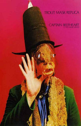 Captain Beefheart Trout Mask Replica Poster
