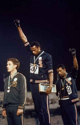 Olympics Black Power Salute Poster