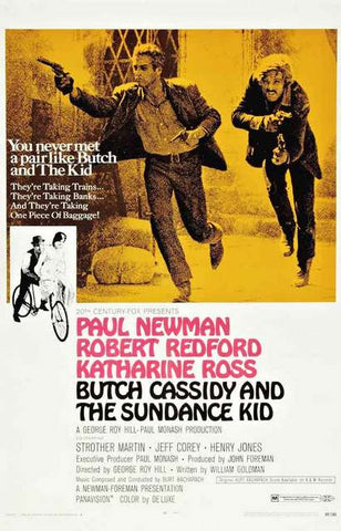 Butch Cassidy Movie Poster