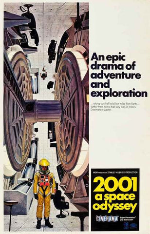 2001: Space Odyssey Movie Poster 11x17