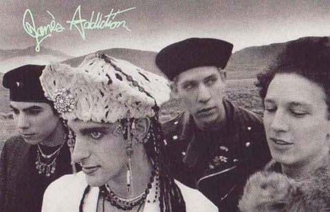 Jane's Addiction Band Poster