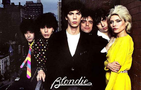 Blondie Band Poster