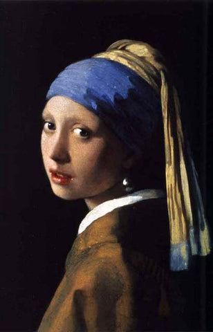 Vermeer Girl With A Pearl Earring Poster