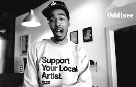 Oddisee Portrait Poster