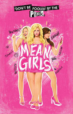 Mean Girls Broadway Show Poster