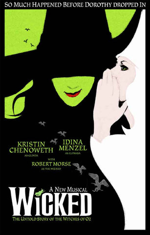 Wicked Broadway Show Poster