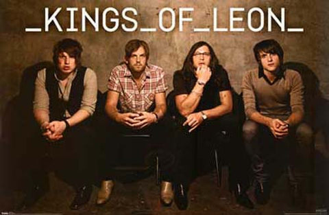 Kings of Leon Please Be Seated (no border) 22x34 Poster