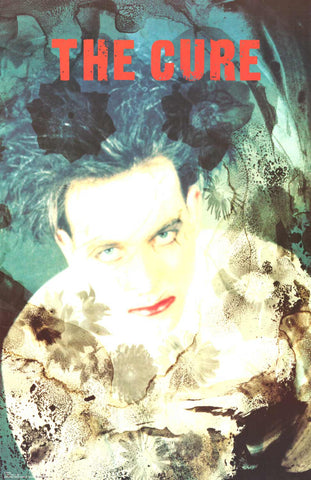 Poster: The Cure Disintegration 22x34