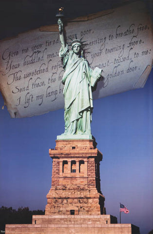 Statue of Liberty Monument Poster