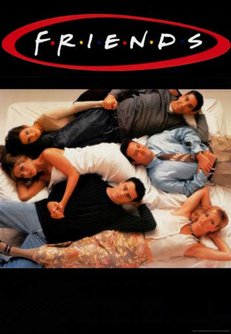 Friends TV Show Cast Poster