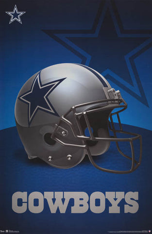 Dallas Cowboys NFL Football Poster