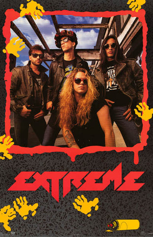 Extreme Band Poster