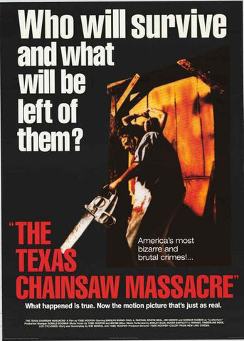 Texas Chainsaw Massacre Movie Poster