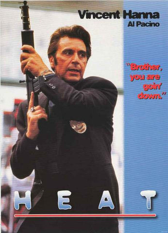Heat Al Pacino Movie Poster