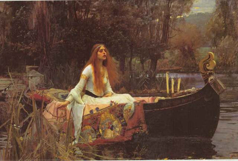 John William Waterhouse Lady of Shalott Poster