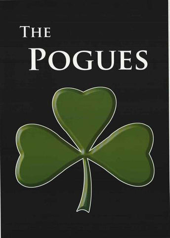 The Pogues Shamrock Poster