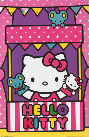 Hello Kitty Cartoon Poster