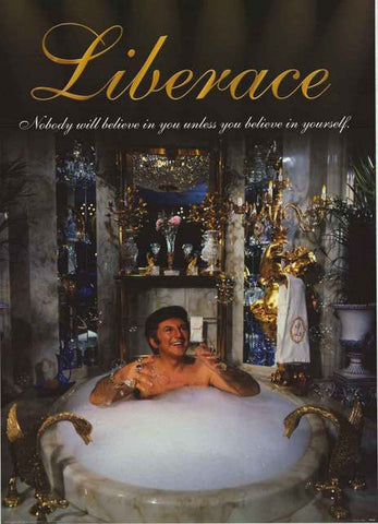 Liberace Quote Poster
