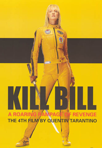 Kill Bill Roaring Rampage Revenge XL 37x53 Giant Poster