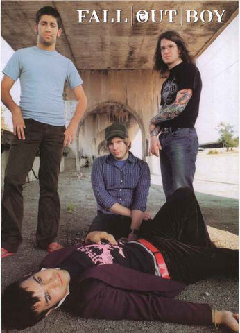 Fall Out Boy Band Poster