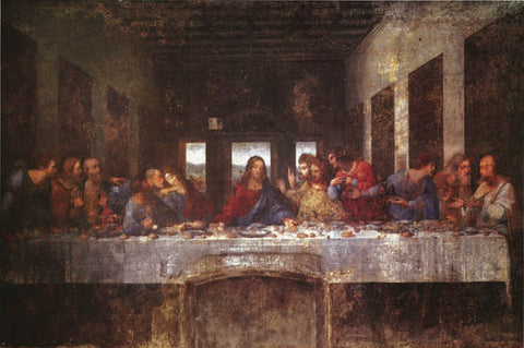 Leonardo Da Vinci The Last Supper Poster