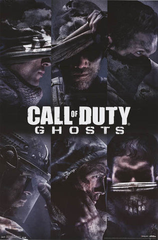 Call of Duty Ghosts Video Game Poster