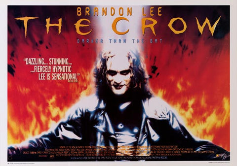 The Crow Bradon Lee Movie Poster