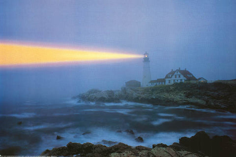 Lighthouse Portland Head Maine Poster