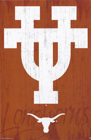 University of Texas Longhorns Logo Poster