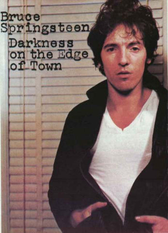 Bruce Springsteen Darkness on the Edge of Town Poster