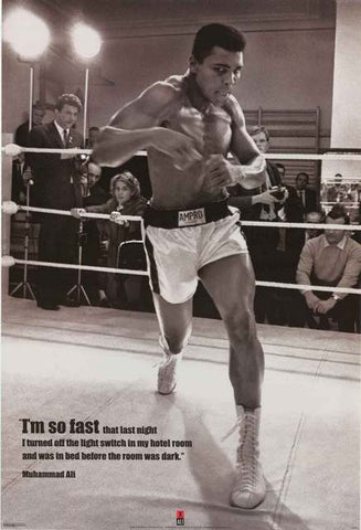 Muhammad Ali Quote Poster