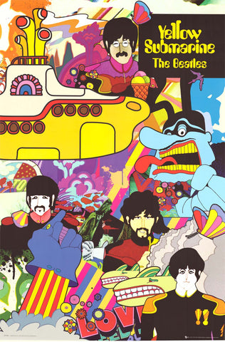 Poster: The Beatles Yellow Submarine