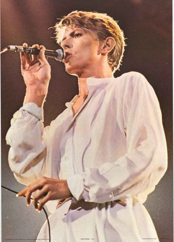 David Bowie Live Poster