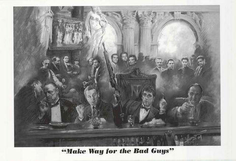 Mafia Movie Bad Guys Poster