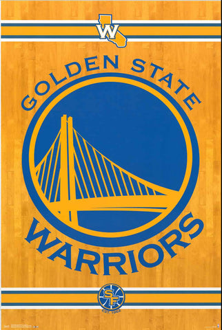 Golden State Warriors NBA Poster