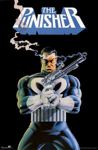 The Punisher Antihero Marvel Comics 1991 23x35 Poster